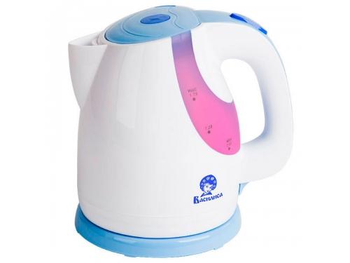 Чайник электрический Василиса Т24-2200, белый с сиреневым, вид 1