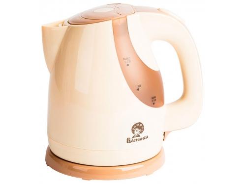 Чайник электрический Василиса Т23-2200, бежевый, вид 1