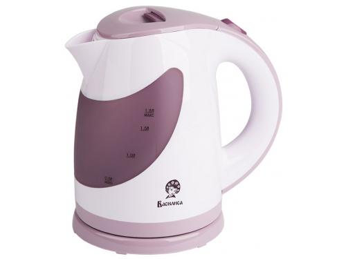 Чайник электрический Василиса Т26-2200, белый с фиолетовым, вид 1