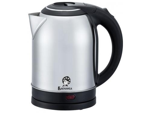 Чайник электрический Василиса Т31-2000 нерж./черный, вид 1