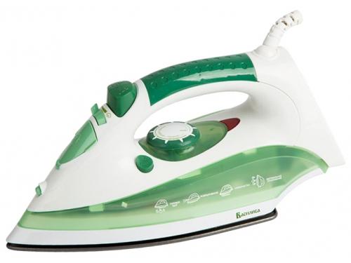 Утюг Василиса У2-2000, белый с зеленым, вид 1
