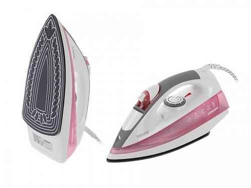 Утюг Jarkoff JK 825, розовый, вид 2