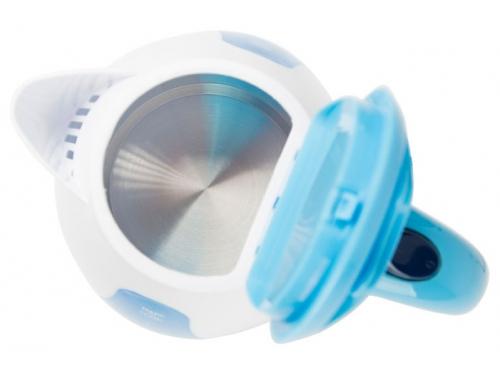 Чайник электрический Василиса Т3-1500, белый с серо-голубым, вид 2