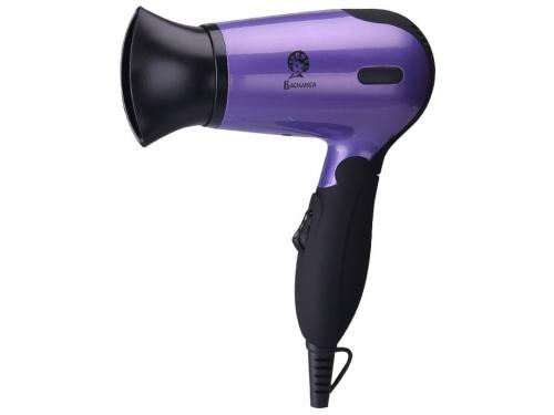 Фен / прибор для укладки Василиса ФН2-1400, черный с фиолетовым, вид 1