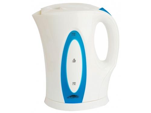 Чайник электрический Эльбрус-4, белый с синим, вид 1