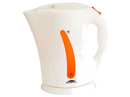 Чайник электрический Эльбрус-2, белый с оранжевым, вид 1
