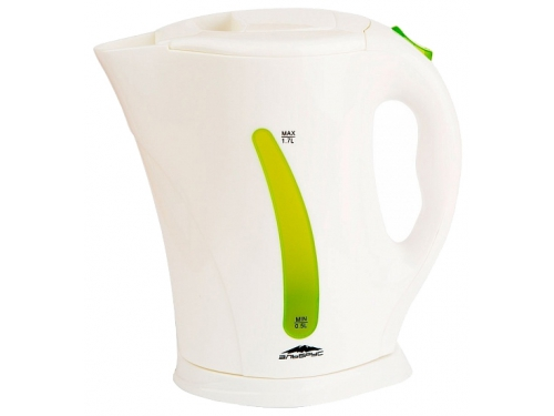 Чайник электрический Эльбрус-2, белый с зеленым, вид 1