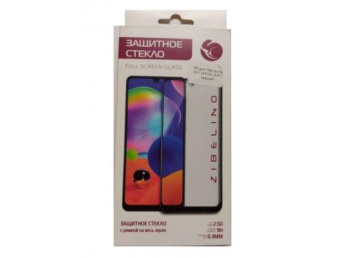 Защитное стекло для смартфона Zibelino для Samsung A31 SM-A315 5D черное, вид 1