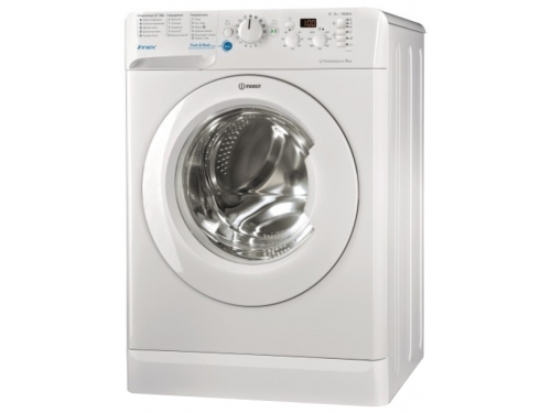 Стиральная машина Indesit BWSD 61051 1, белая, вид 1