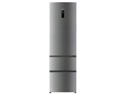 Холодильник Haier A2F637CXMV, стальной, вид 1