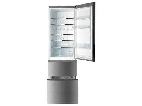 Холодильник Haier A2F637CXMV, стальной, вид 2