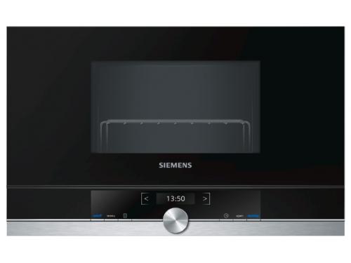 Микроволновая печь Siemens BE634LGS1, сталь, вид 1