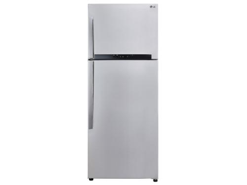 Холодильник LG GC-M432 HMHL, металл, вид 1
