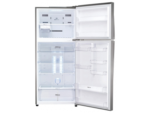 Холодильник LG GC-M432 HMHL, металл, вид 2
