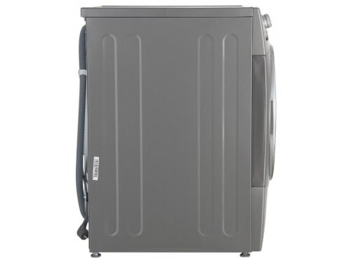 Стиральная машина LG FH-495BDS6, серебристая, вид 3