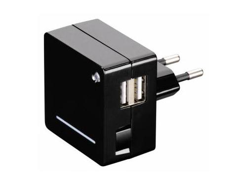 Зарядное устройство Hama Opal, 00124557, универсальное, черное, вид 1