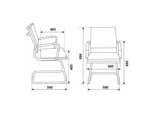 Компьютерное кресло CH-993-Low-V/grey, серый, вид 18