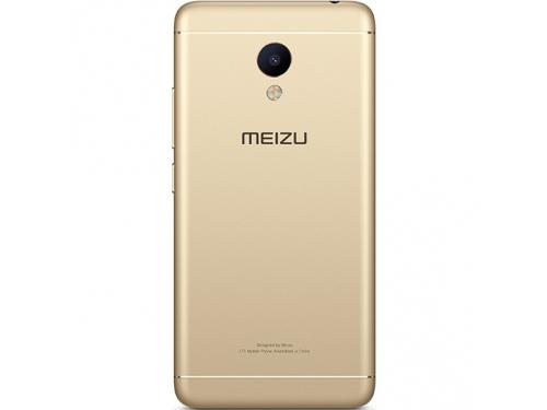 Смартфон Meizu M3s 32Gb, золотистый, вид 4