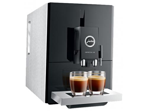 Кофемашина Jura Impressa A9 Platin, серебристо-черная, вид 3