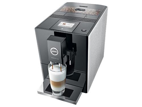 Кофемашина Jura Impressa A9 Platin, серебристо-черная, вид 4
