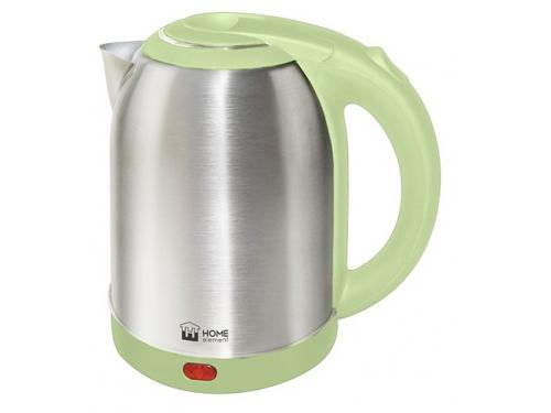 Чайник электрический Home-Element HE-KT155, фисташковый, вид 1