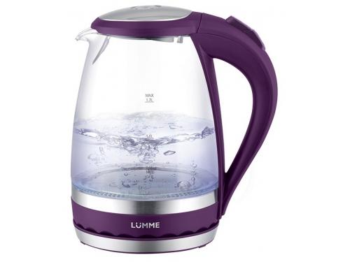 Чайник электрический Lumme LU-220 фиолетовый чароит, вид 1