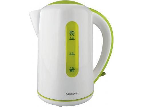 Чайник электрический Maxwell MW-1028, зеленый, вид 1