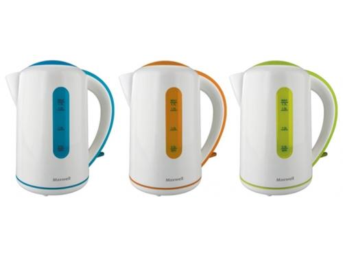 Чайник электрический Maxwell MW-1028, оранжевый, вид 2