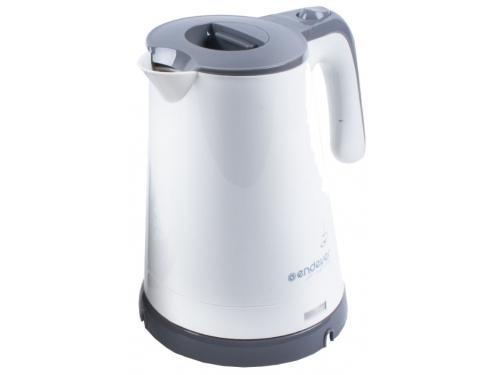 Чайник электрический Endever Skyline KR-315, бело-серый, вид 1