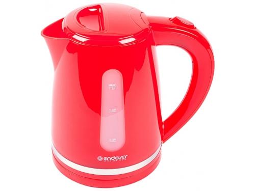 Чайник электрический Endever Skyline KR-228, красный, вид 1