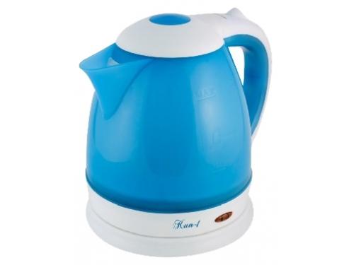 Чайник электрический Великие реки Кип-1, синий/белый, вид 1