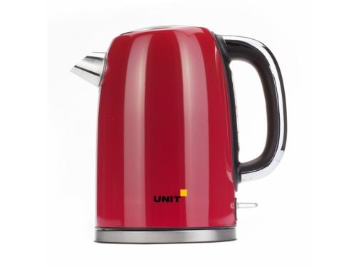 Чайник электрический Unit UEK-264, красный, вид 1
