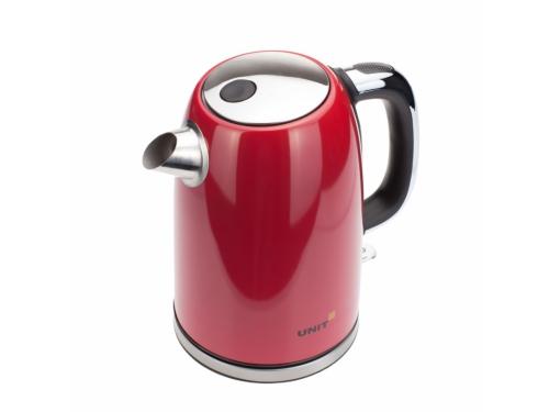 Чайник электрический Unit UEK-264, красный, вид 3