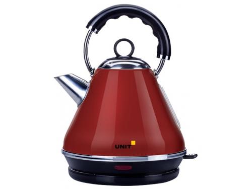 Чайник электрический Unit UEK-262, красный, вид 1