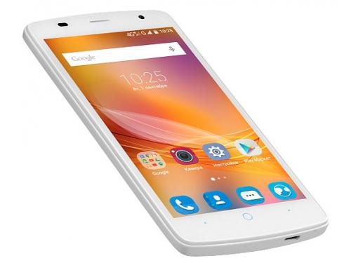 Смартфон ZTE Blade L5 8Gb, белый, вид 1