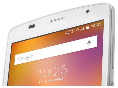Смартфон ZTE Blade L5 8Gb, белый, вид 8