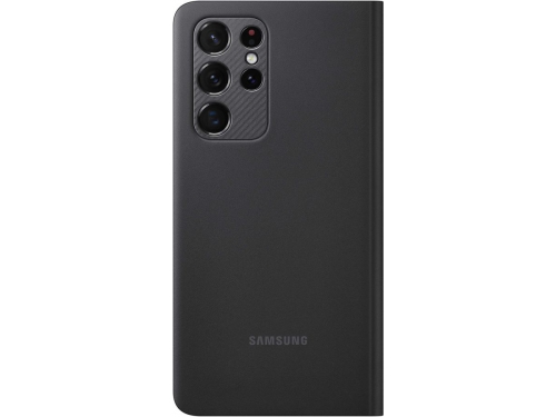 Чехол для смартфона Samsung Galaxy S21 Ultra Smart Clear View Cover (EF-ZG998CBEGRU), черный, вид 2