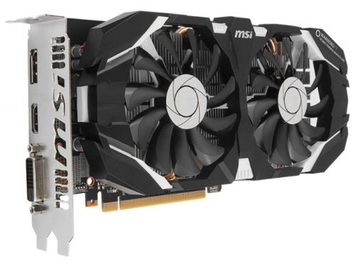 ���������� GeForce MSI PCI-E NV GTX 1060 6Gb 192b DDR5 D-DVI+HDMI GTX 1060 6GT OC, ��� 1