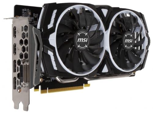 ���������� GeForce MSI PCI-E NV GTX 1060 6Gb 192b DDR5 D-DVI+HDMI GTX 1060 ARMOR 6G OCV1, ��� 1