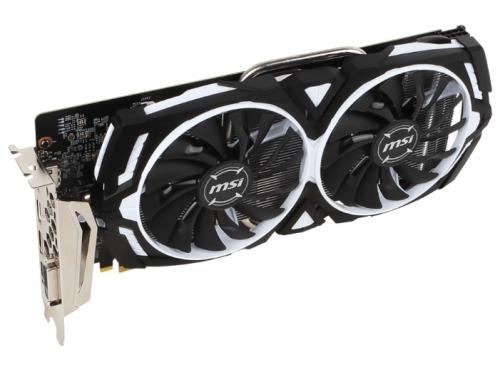 ���������� GeForce MSI PCI-E NV GTX 1060 6Gb 192b DDR5 D-DVI+HDMI GTX 1060 ARMOR 6G OCV1, ��� 2