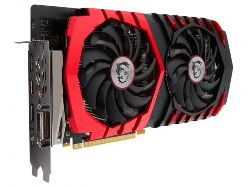 Видеокарта GeForce MSI GeForce GTX 1060 1594Mhz PCI-E 3.0 3072Mb 8108Mhz 192 bit DVI HDMI HDCP, вид 1