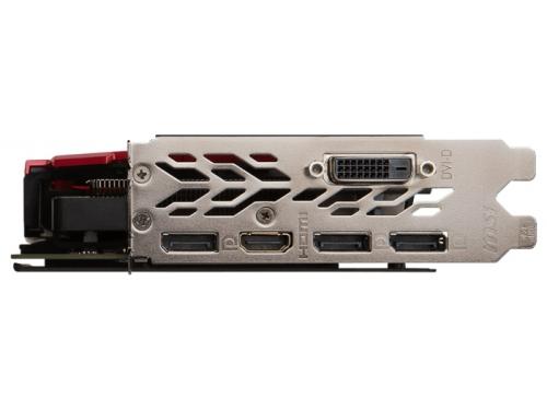 Видеокарта GeForce MSI GeForce GTX 1060 1594Mhz PCI-E 3.0 3072Mb 8108Mhz 192 bit DVI HDMI HDCP, вид 4