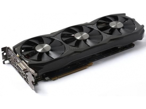 Видеокарта GeForce Zotac PCI-E NV GTX 1070 8192Mb 256b DDR5 D-DVI+HDMI ZT-P10700F-10P, вид 1