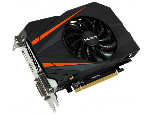 Видеокарта GeForce Gigabyte PCI-E NV GTX 1060 6Gb 192b DDR5 D-DVI+HDMI GV-N1060IXOC-6GD, вид 1