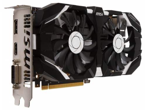 Видеокарта GeForce MSI GeForce GTX 1060 1544Mhz PCI-E 3.0 6144Mb 8008Mhz 192 bit DVI HDMI HDCP OC V1, вид 1