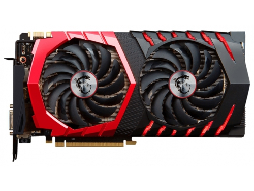 Видеокарта GeForce MSI GeForce GTX 1070 1607Mhz PCI-E 3.0 8192Mb 8108Mhz 256 bit DVI HDMI HDCP GAMING X, вид 1