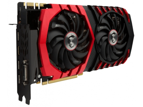 Видеокарта GeForce MSI GeForce GTX 1070 1607Mhz PCI-E 3.0 8192Mb 8108Mhz 256 bit DVI HDMI HDCP GAMING X, вид 2