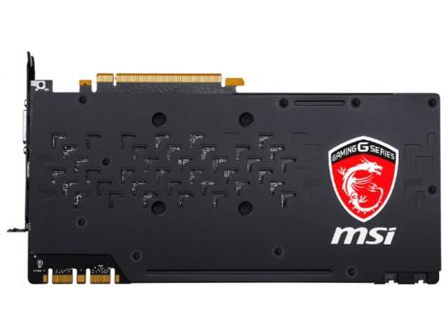 Видеокарта GeForce MSI GeForce GTX 1070 1657Mhz PCI-E 3.0 8192Mb 8108Mhz 256 bit DVI HDMI HDCP, вид 3