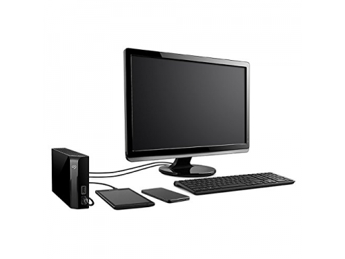 ������� ���� Seagate Backup Plus Hub STEL8000100 (8Gb, USB3.0, 2xUSB hub), ������, ��� 5