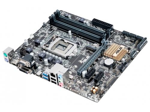 Материнская плата ASUS B150M-A/M.2 Soc-1151 B150 DDR4 mATX SATA3  LAN-Gbt USB3.0 VGA/DVi/HDMI, вид 1